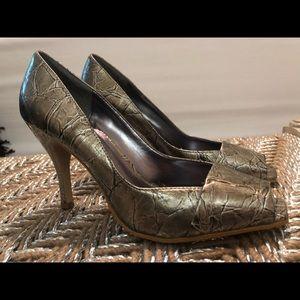 Rampage gun metal gray heels